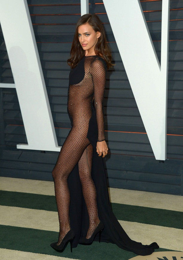 Mandatory Credit: Photo by Stewart Cook/REX/Shutterstock (4448579ps) Irina Shayk 87th Academy Awards, Oscars, Vanity Fair After Party, Los Angeles, America - 22 Feb 2015